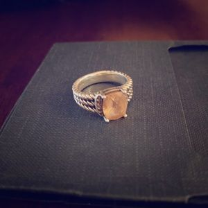 David Yurman Wheaton Petite Morganite Ring